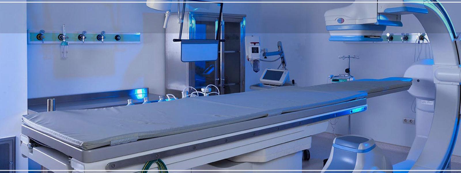 In Krankenhäusern stellen<p></p>wir Ihnen alles zur Verfügung, was Sie brauchen